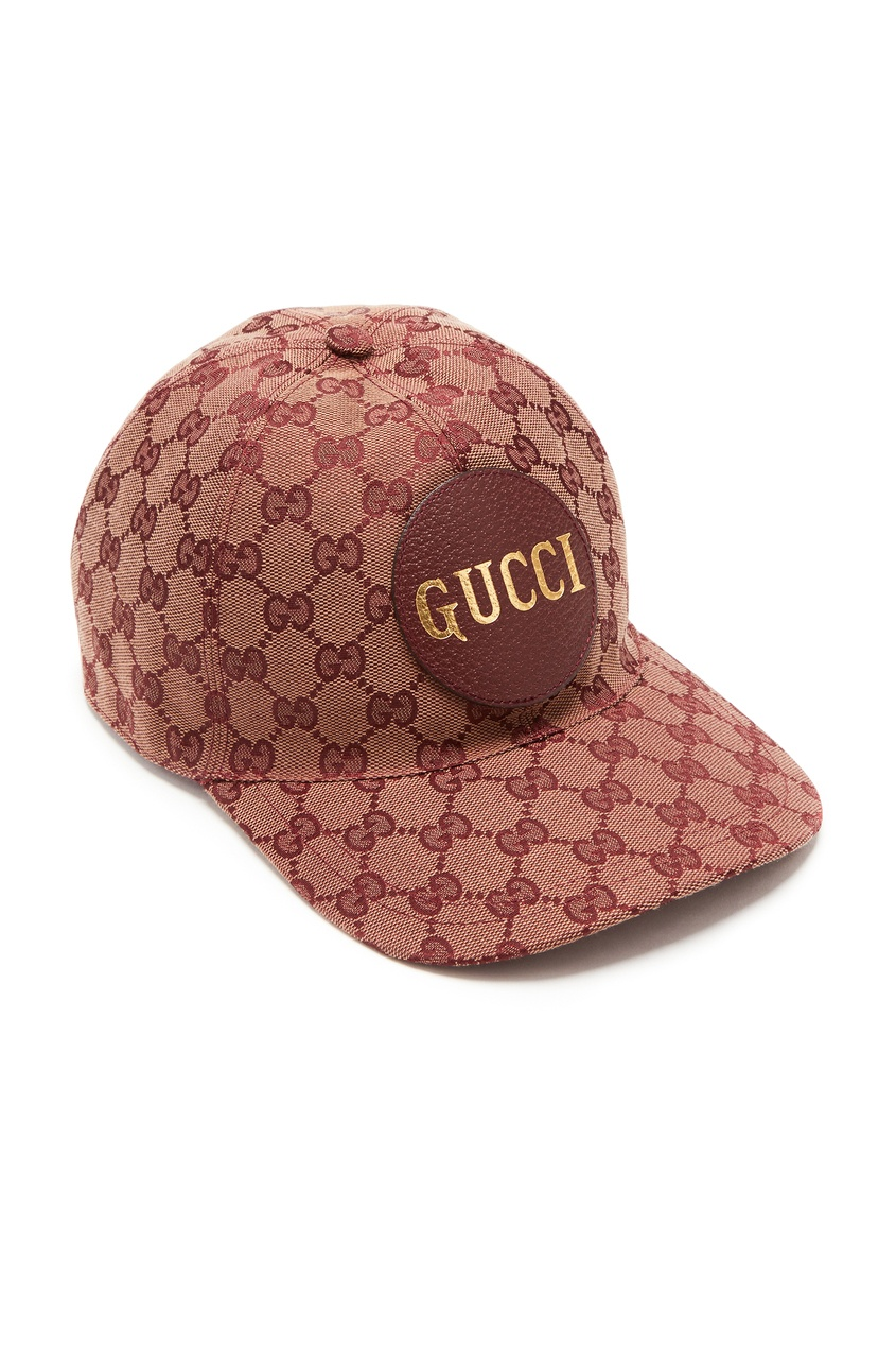 мужская кепка gucci man, бежевая