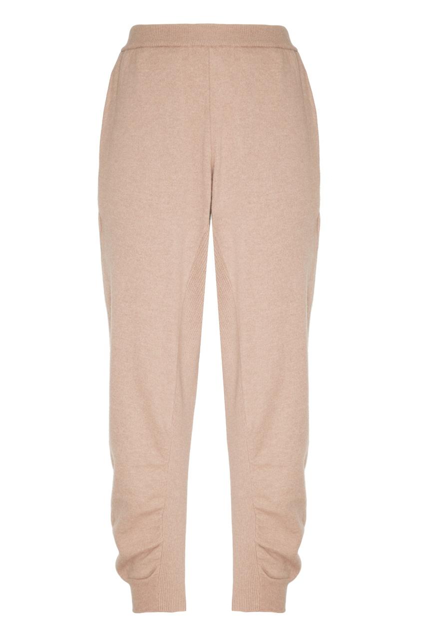 женские брюки stella mccartney, бежевые