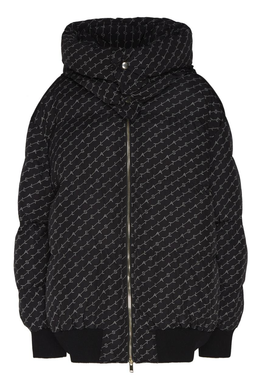 женская куртка stella mccartney, черная