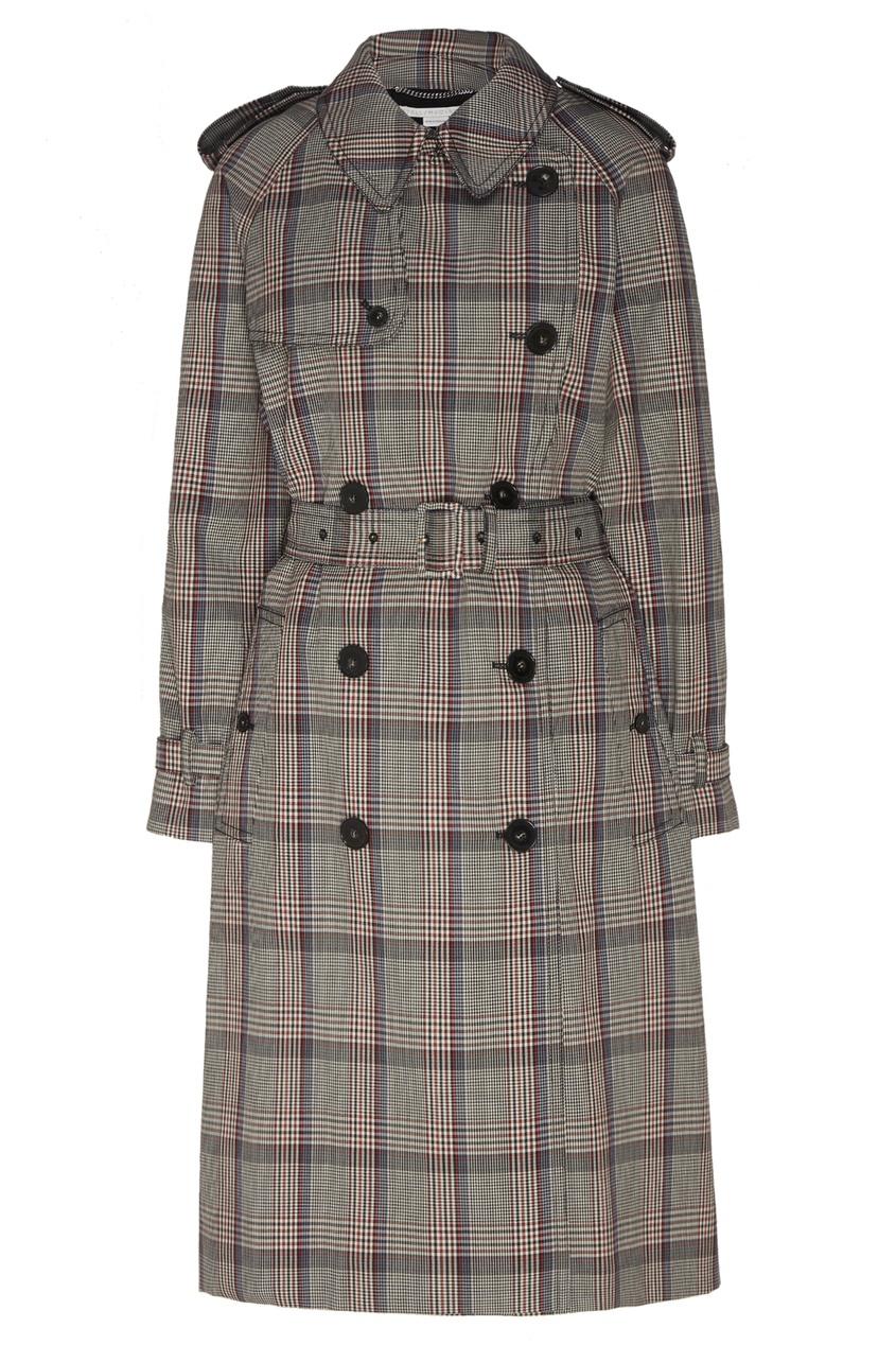 женское пальто stella mccartney, черное
