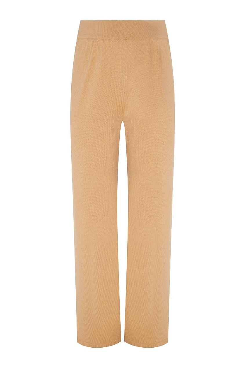 Фото - Укороченные трикотажные брюки от Alena Akhmadullina бежевого цвета