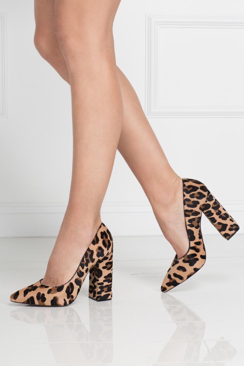 Туфли из меха пони