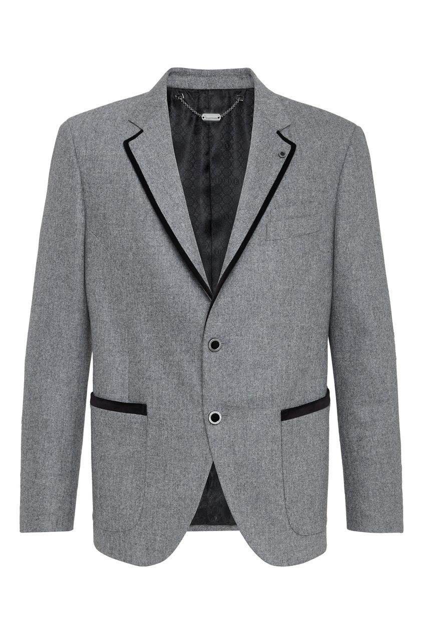 мужской пиджак billionaire, серый