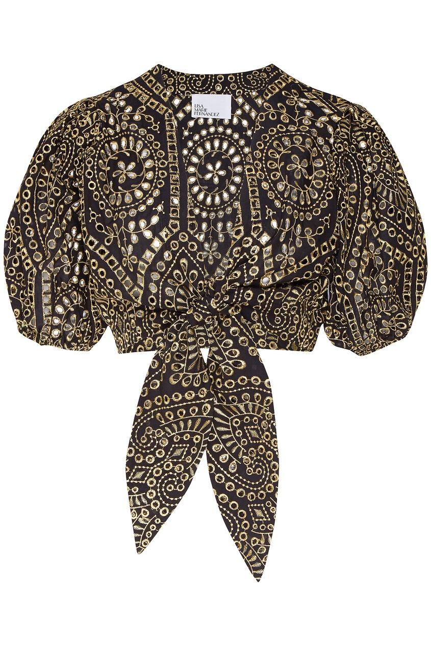 женская блузка lisa marie fernandez