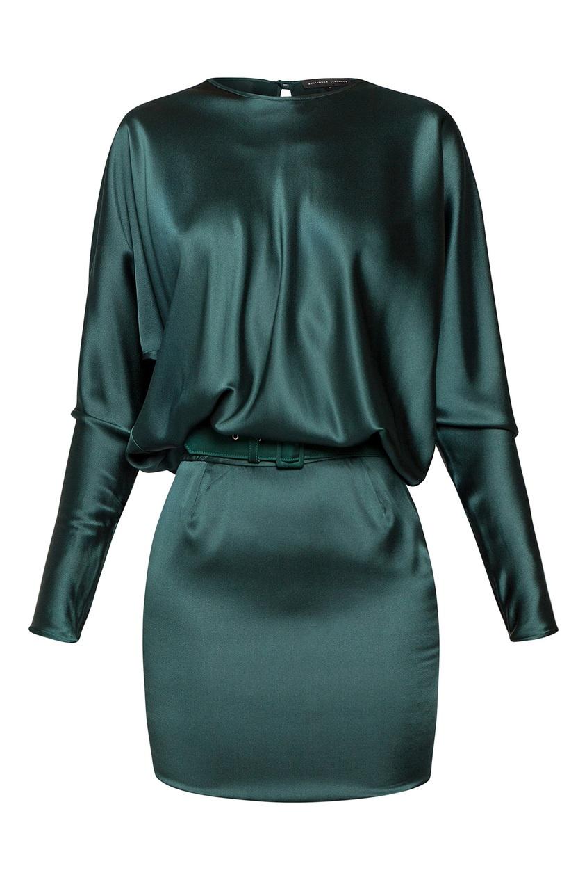 женское платье alexander terekhov, зеленое
