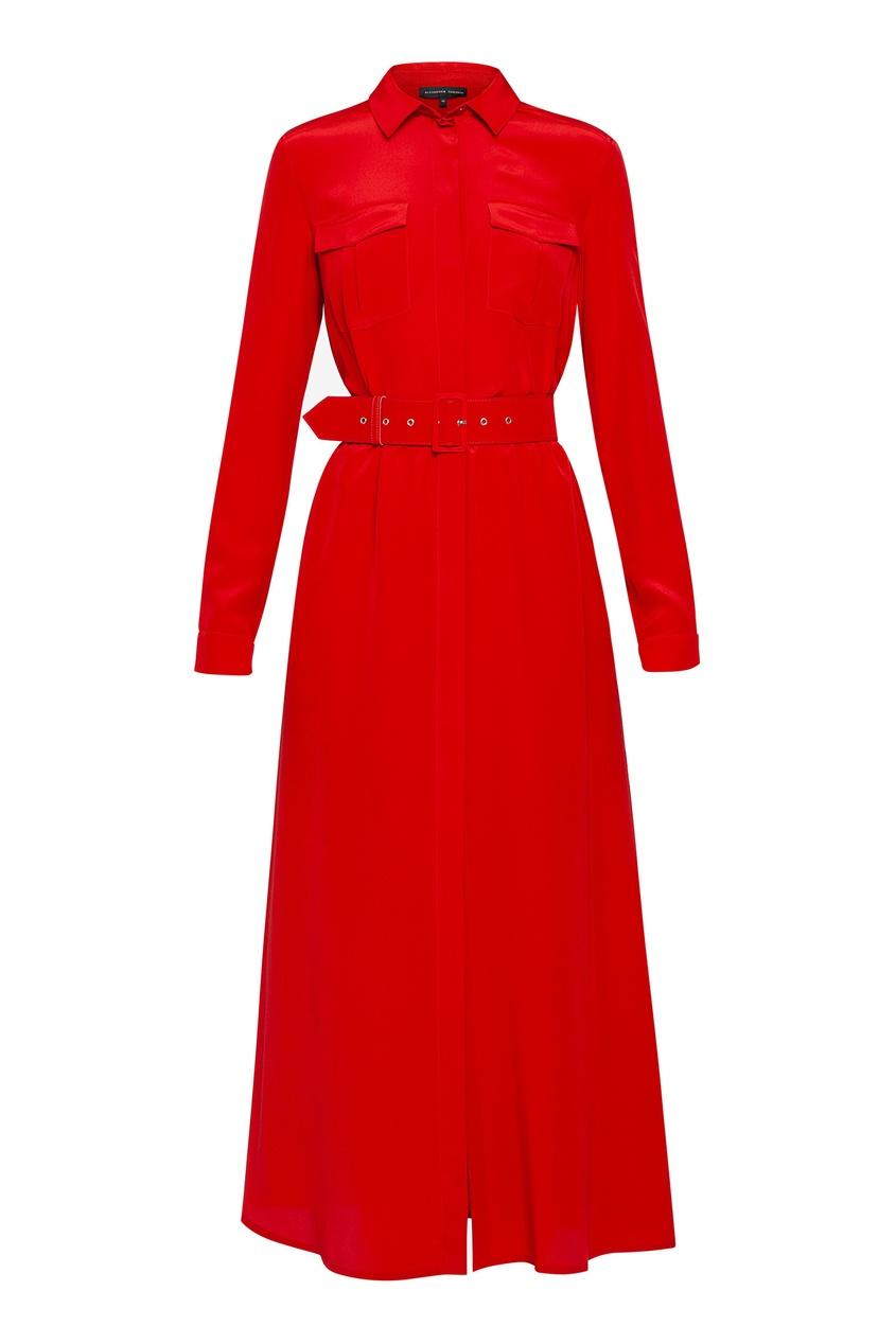 женское платье alexander terekhov, красное