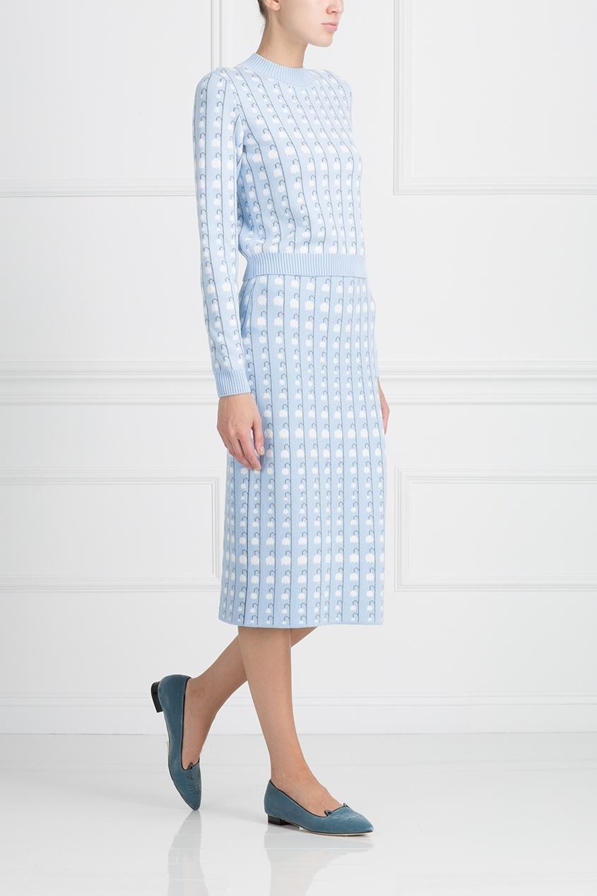 LUBLU Kira Plastinina Хлопковая юбка