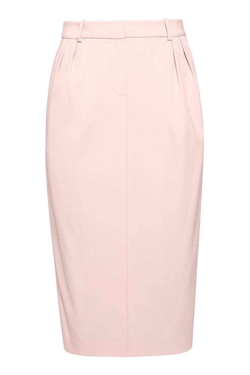 женская юбка alexander terekhov, розовая