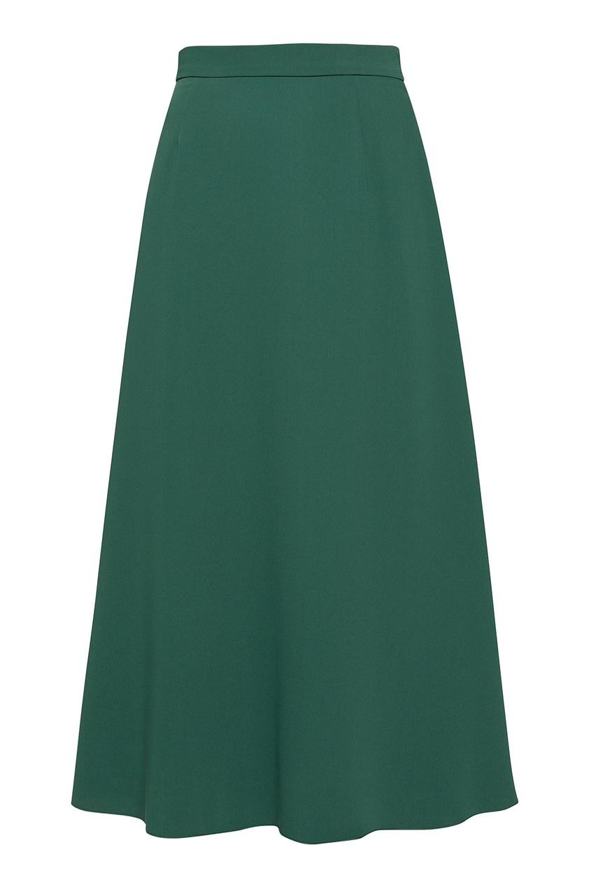 женская юбка alexander terekhov, зеленая