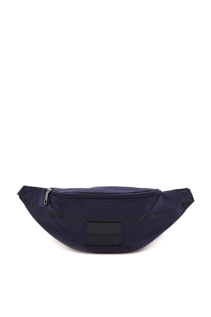 мужская сумка calvin klein, синяя
