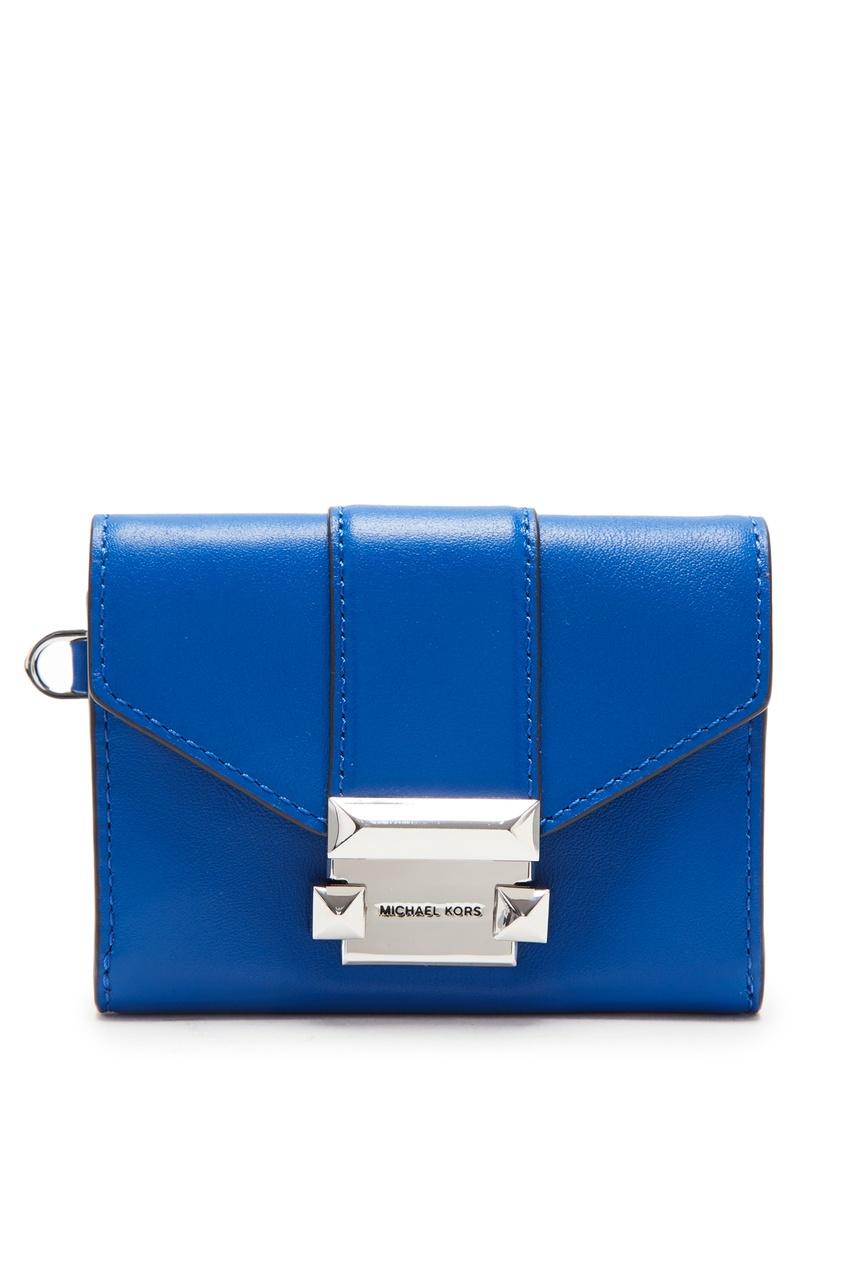 женский кошелёк michael kors, голубой
