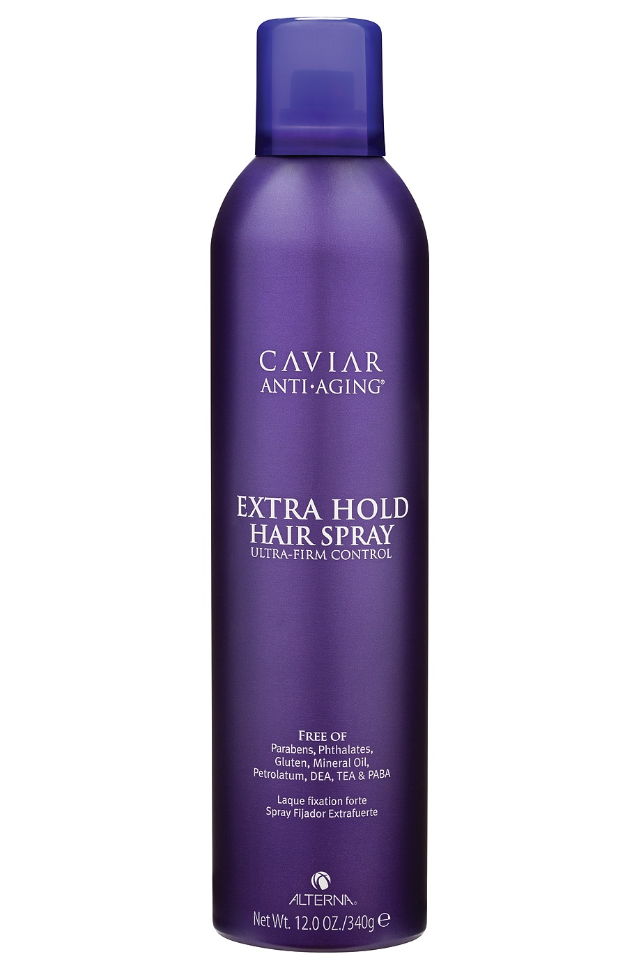 Лак сильной фиксации Caviar Anti-Aging Extra-Hold Hair Spray 400ml Alterna (фото)