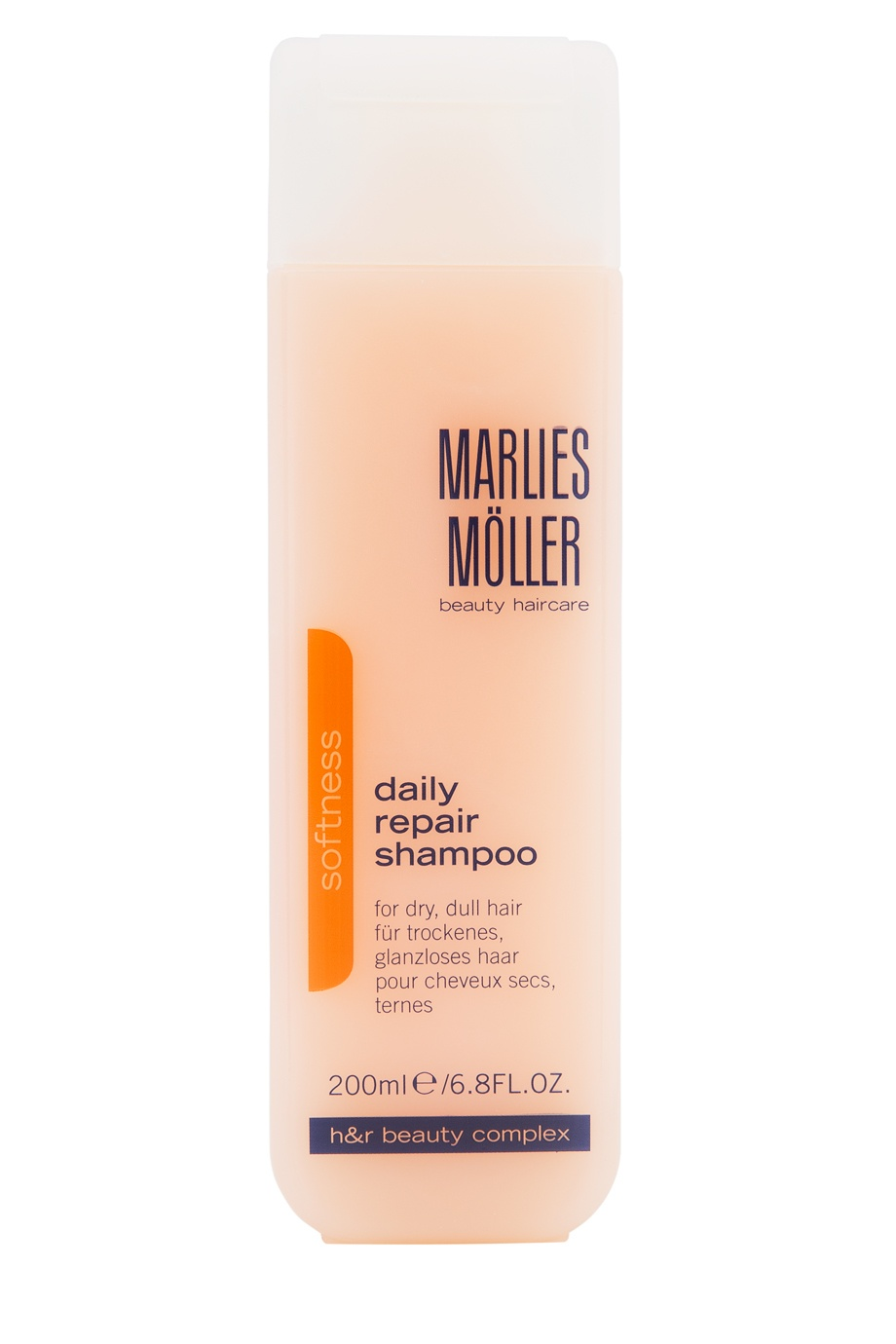 Восстанавливающий шампунь Softness 200ml Marlies Moller (фото)