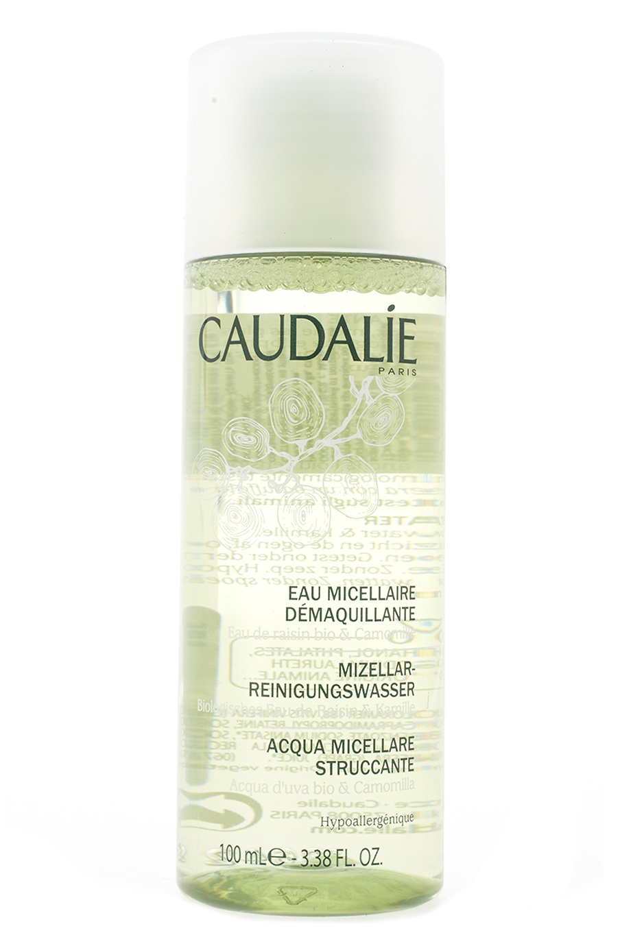 Мицеллярная вода Make Up Remover Cleansing Water 100ml Caudalie (фото)
