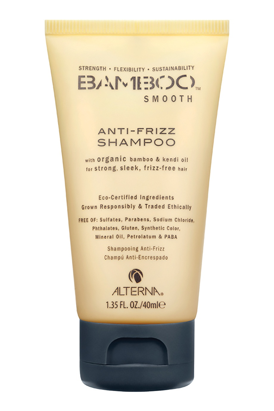 Полирующий шампунь Bamboo Smooth Anti-Frizz 40ml Alterna (фото)
