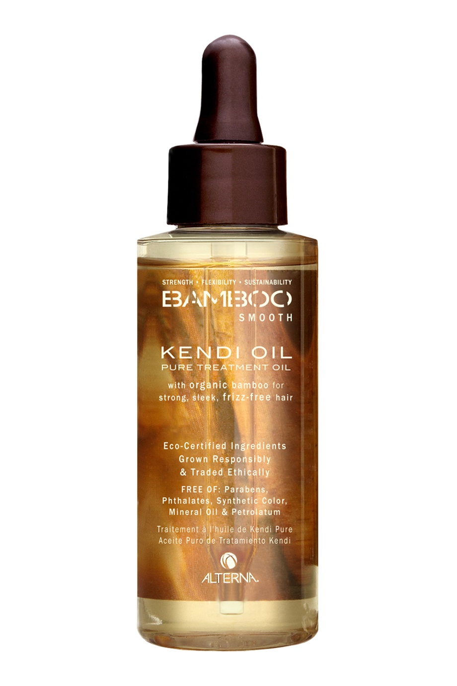Масло для волос Bamboo Smooth Kendi Pure Treatment 50ml Alterna (фото)