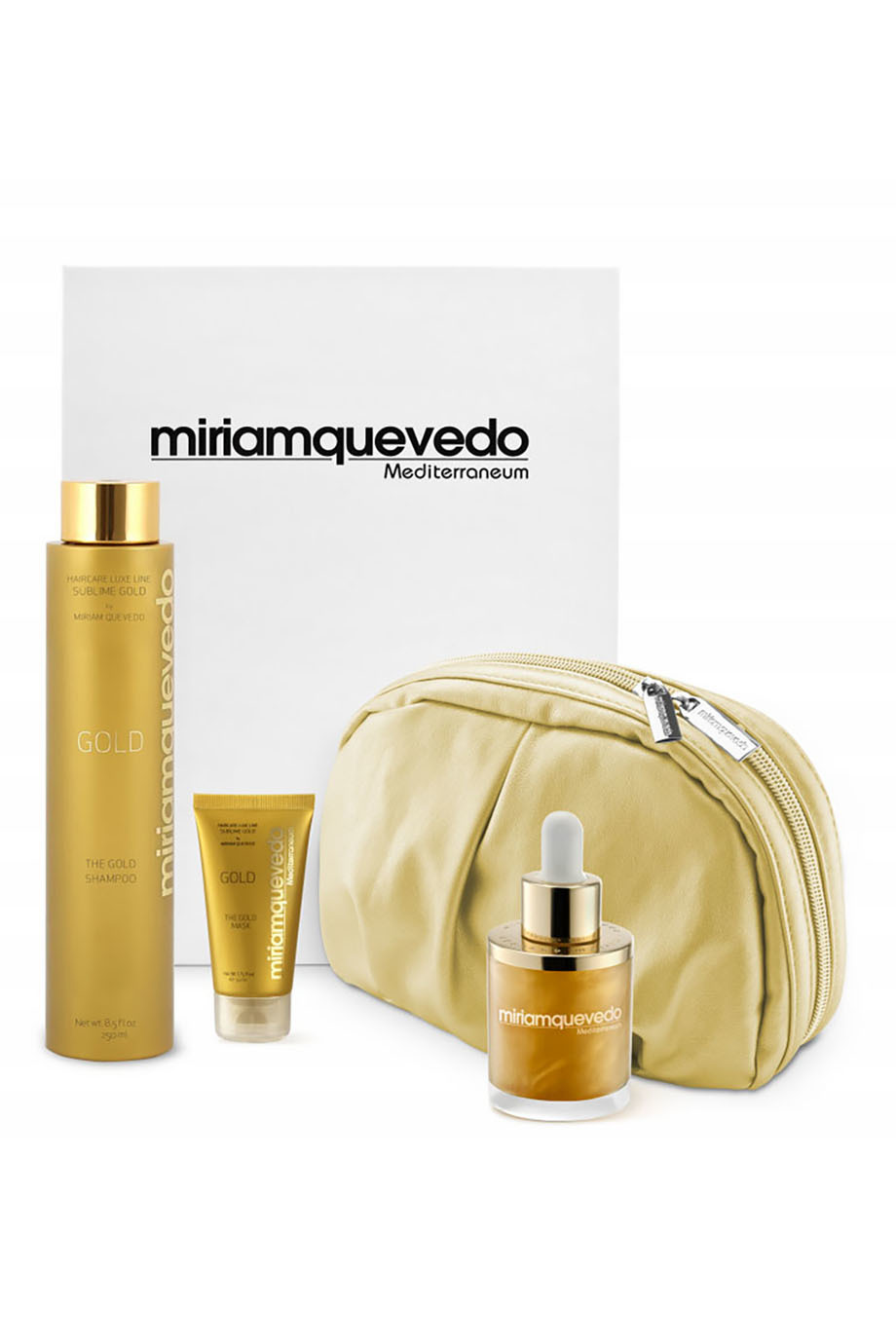 Набор средств для волос The Ultimate Luxurious Global Anti-Aging Sublime Gold Edition Miriamquevedo (фото)