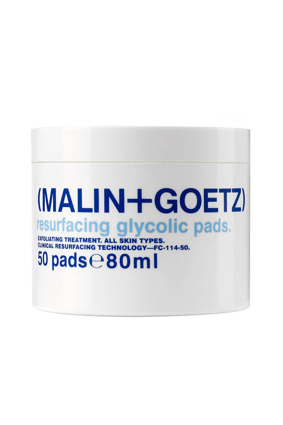 Диск-скраб для лица Resurfacing Glycolic Pads 50шт Malin+Goetz (фото)