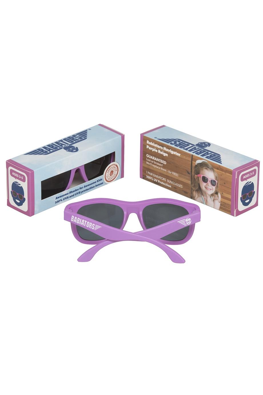 Очки фиолетового цвета