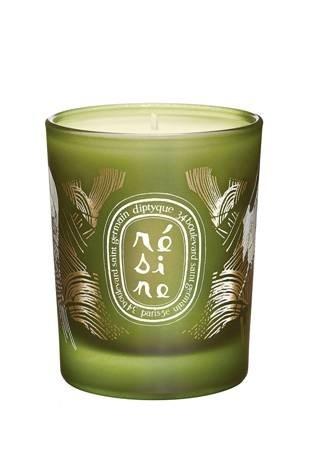 Свеча из парфюмированного воска Resin