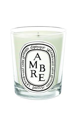 Свеча из парфюмированного воска Ambre