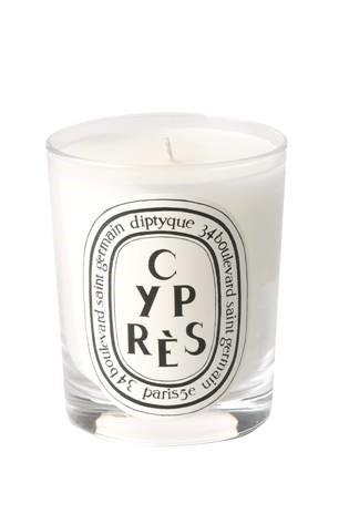 Свеча из парфюмированного воска Cypres