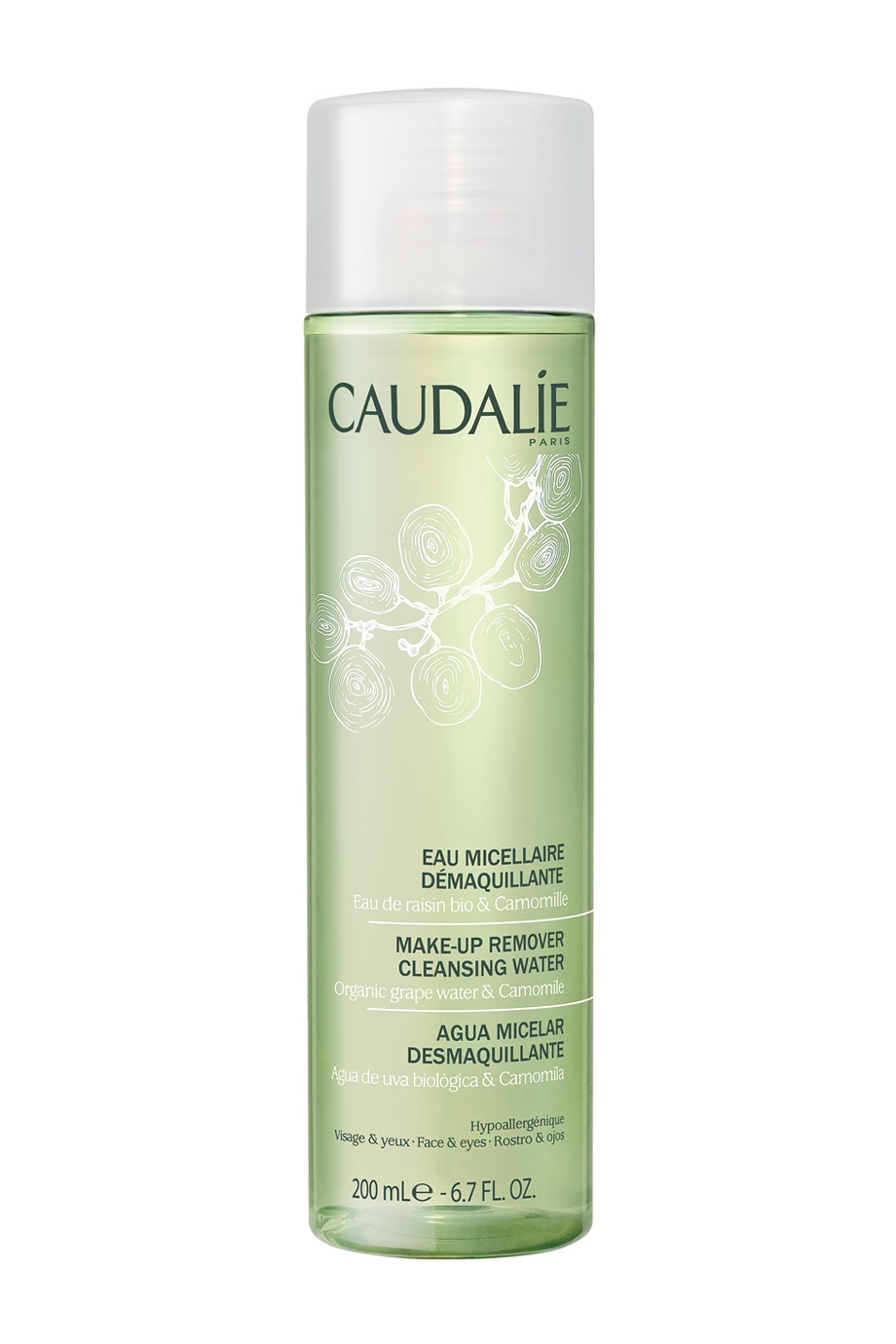 Мицеллярная вода Make Up Remover Cleansing Water 200ml Caudalie (фото)
